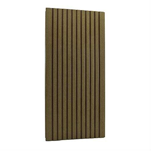 Фото - Террасная доска Twinson 140 х 28 х 6000 мм Абрикосово - коричневая
