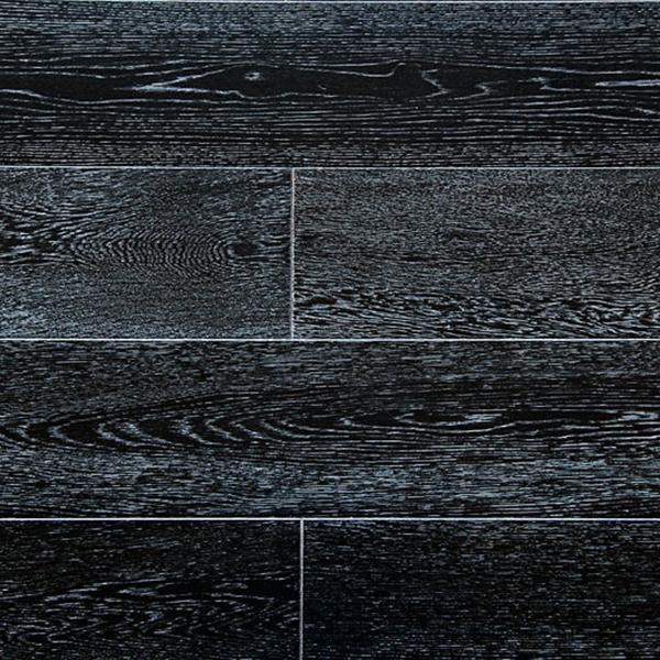 Фото - Паркетная доска Amber Wood Дуб Черно-белый