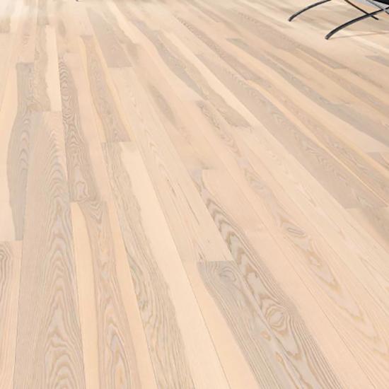 Фото - Паркетная доска Haro Однополосная 4000 Series Ясень арктический белый