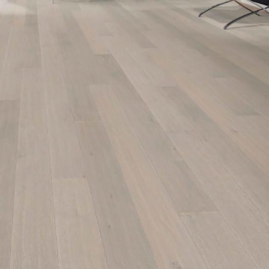 Фото - Паркетная доска Haro Однополосная 4000 Series Дуб светло-серый выбеленный