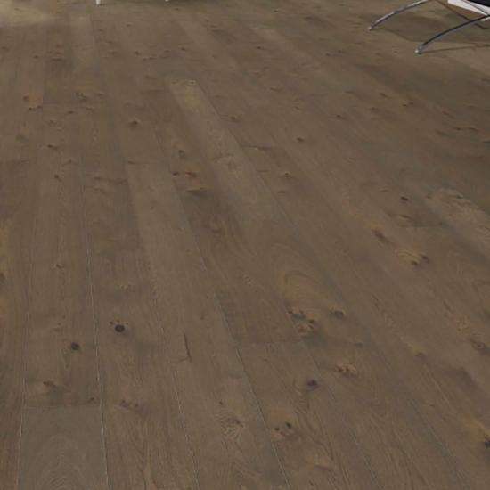 Фото - Паркетная доска Haro Однополосная 4000 Series Дуб темно-коричневый Саваж