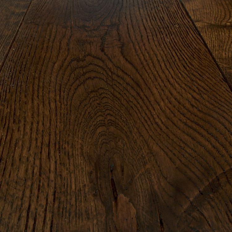 Фото - Массивная доска Magestik Floor Дуб Бренди (браш) (300-1800)х150х18 мм