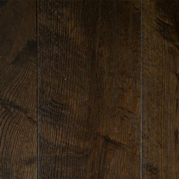 Фото - Массивная доска Magestik Floor Дуб Бренди (браш) (300-1800)х125х18 мм