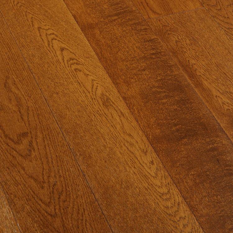 Фото - Массивная доска Magestik Floor Дуб Коньяк (браш) (400-1800)х180х18 мм