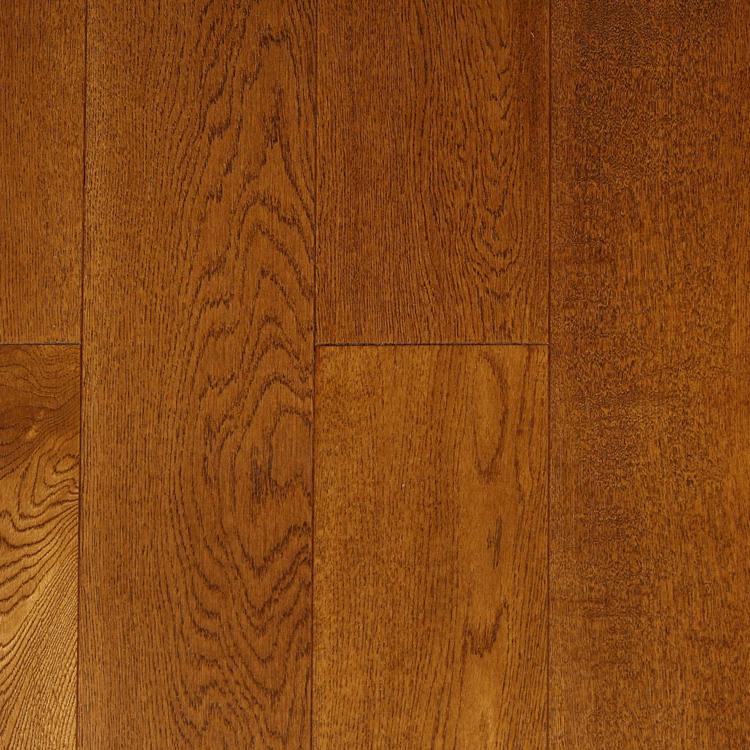 Фото - Массивная доска Magestik Floor Дуб Коньяк (браш) (400-1800)х150х18 мм