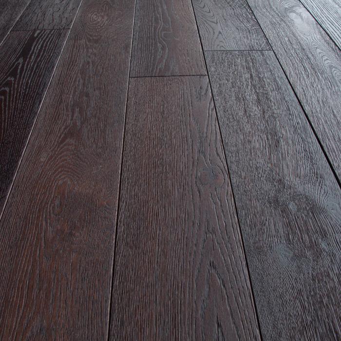 Фото - Массивная доска Magestik Floor Дуб Термо (400-1800)х125х18 мм