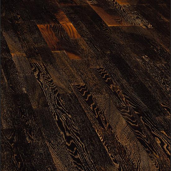 Фото - Паркетная доска Wood Bee Classik Дуб Антик Блэк
