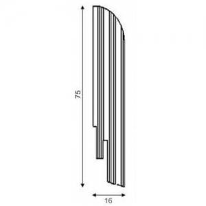 Шпон 75 х 16 DL Profiles