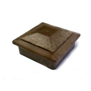 Колпак на столб Goodeck 120 х 120 мм Шоколад
