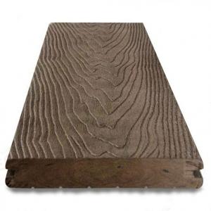 Террасная доска Goodeck 140 х 18 х 3000/4000 мм Темно-коричневый