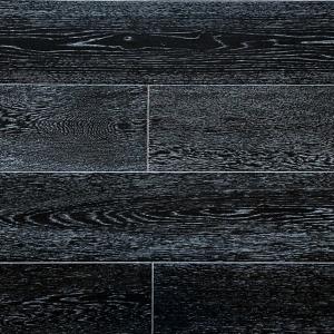 Паркетная доска Amber Wood Дуб Черно-белый