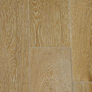 Массивная доска Magestik Floor Дуб Беленый (браш) (300-1800)х125х18 мм