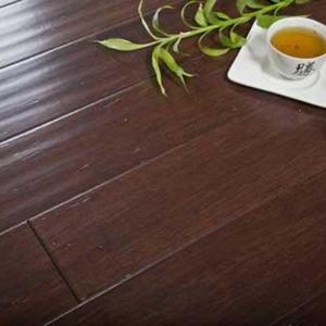 Массивная доска Parketoff Африканская Саванна пресованный бамбук Фордж