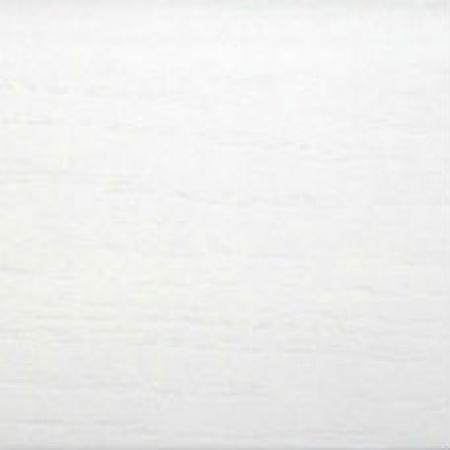 Плинтус DL Profiles 16 х 75 х 2400 мм Белый гладкий 2
